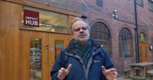 Photo of author in Birmingham